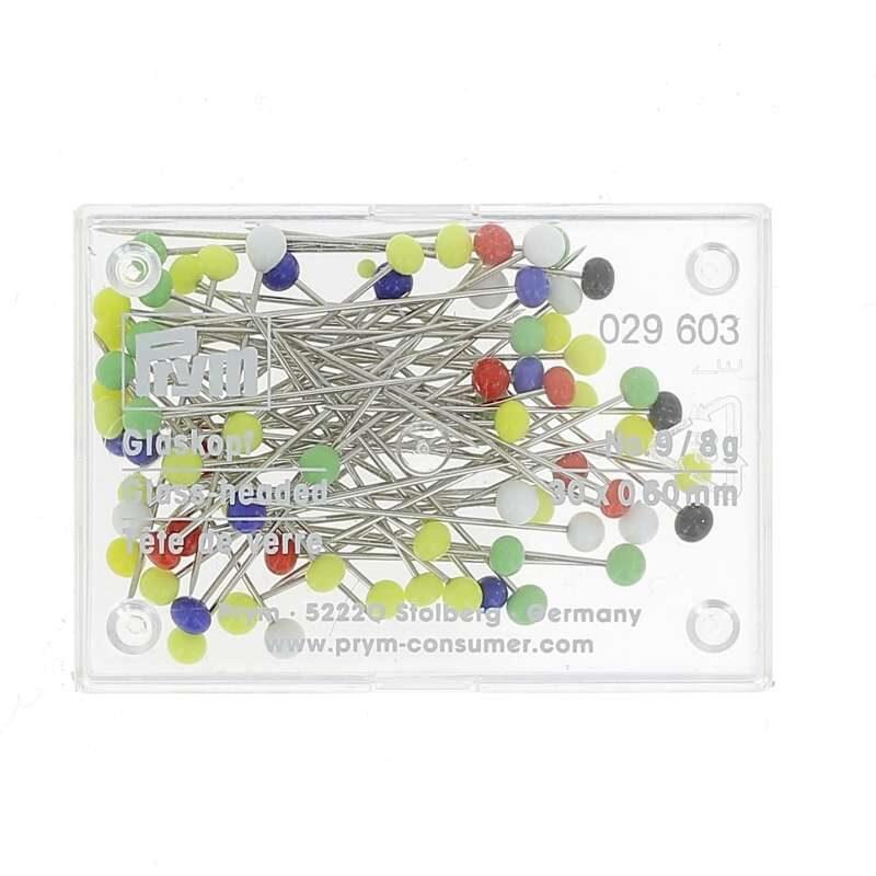 Spilli testa vetro 0/1 scatola da 8 grammi