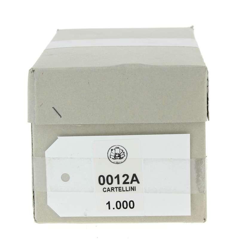 Cartellini bianchi 12 A scatola da 1.000 pezzi