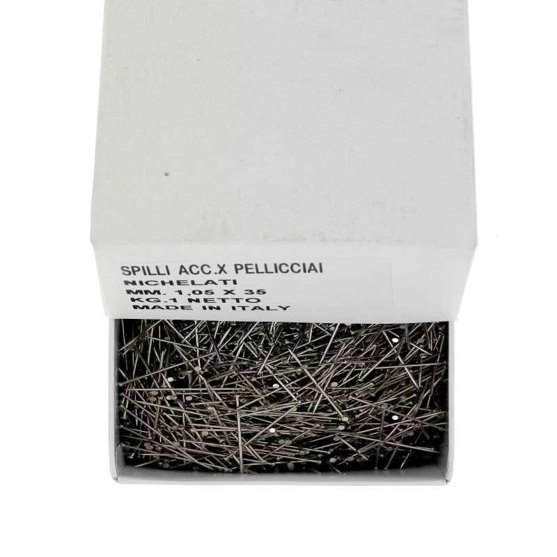 Chiodi nichelati per pellicciai scatola da kg. 1