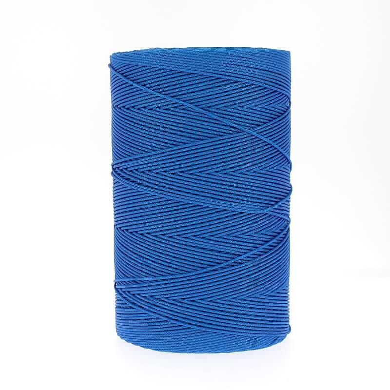 Treccina sintetica 0.800 colore azzurro rotolo da 1.00o mt.