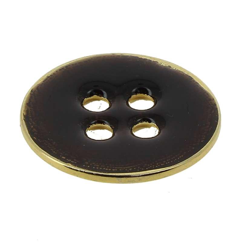 Bottone Metallo smaltato Mod.10895