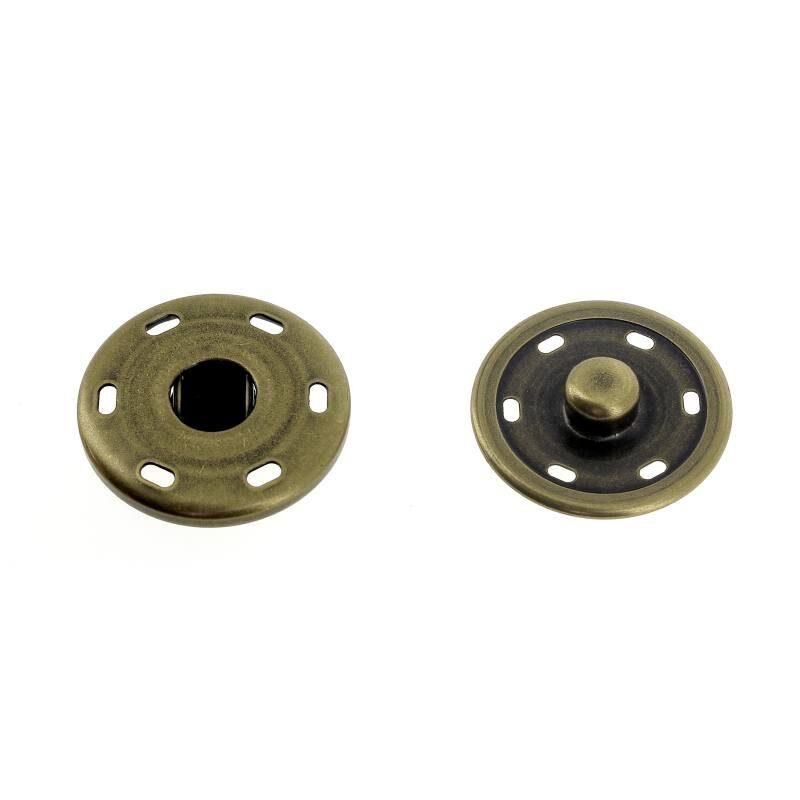 Bottoni a Pressione Metallo Mod.3053X Lin.40-48-54